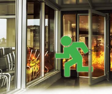 Portes coupe feu door systemes - Porte coupe feu coulissante automatique ...