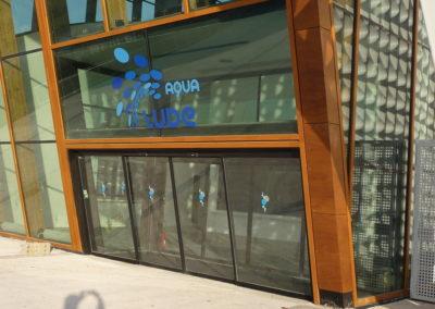projet aqualude porte